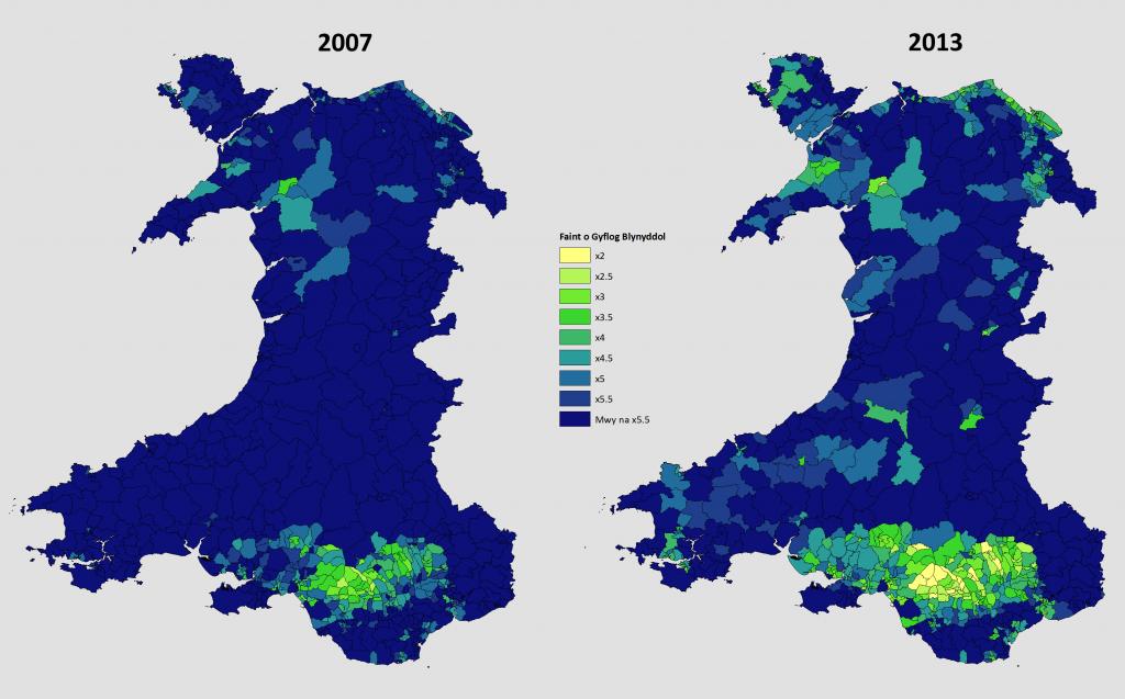 Wardiau Fforddiadwy 2007 - 2013
