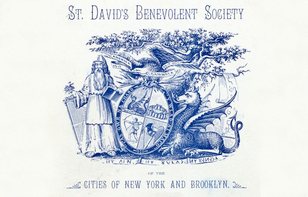 Diwrnod Dewi Sant Hapus – O Efrog Newydd 1880!