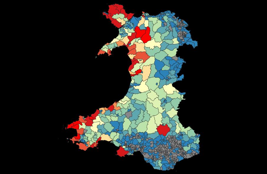 Mapio Tai Gwyliau Cymru